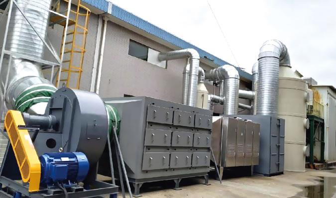 工业废气处理设备需要定期清理的原因.jpg