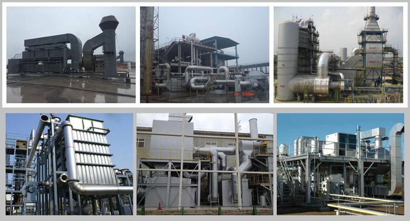 催化燃烧废气处理装置设备主要是利用焚烧炉在催化剂的作用.jpg